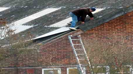 solar-panel-installer-injured-in-fall-through-roof