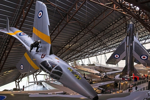 shropshire-star---nerves-of-steel-as-team-polishes-planes-at-raf-museum-cosford-