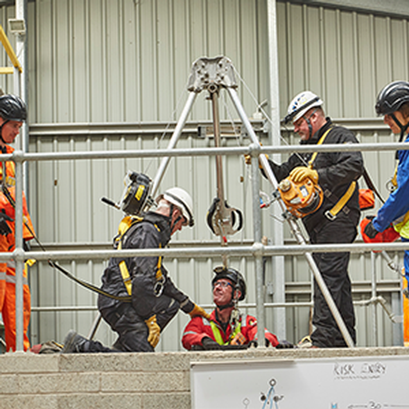 Confined Space and the Law