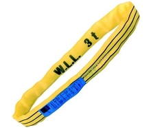 0.5m EWL 3Tonne SWL Polyester Round Lifting Sling