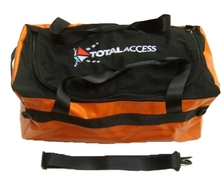Total Access 65ltr Holdall (Black/Orange)