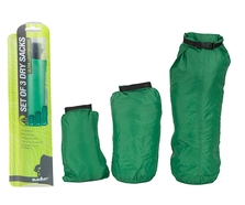 Summit 3pc Set of Green Drysacks (2L, 4L & 8L)