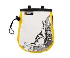 Singing Rock Comic Chalk Bag (Yellow)