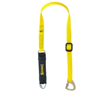 P+P 1.75m Adjust. Fall Arrest Single Web Lanyard