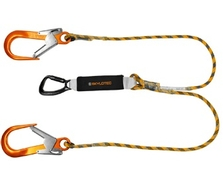 1.5m BFD Y SK12 Fall Arrest Double Lanyard