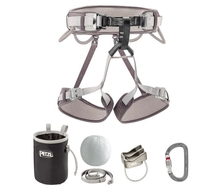 Petzl KIT CORAX Climbing Harness Set 2017 (Size 1)