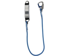 1.5m Fall Arrest Lanyard with Double Action Hook