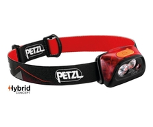 Petzl ACTIK CORE Rechargeable Headlamp (Red)