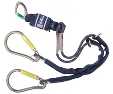 1.5m Sala Ez-Stop Edge-tested Twin lanyard 1224570