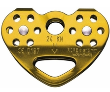 Petzl P21CAB Fixed Cheek Tandem Cable Pulley