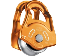 Petzl MOBILE Swing Cheek Rope Pulley P03A (Gold)